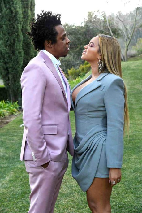 jay z beyonce rihanna more attend roc nation s grammys brunch jay z beyonce rihanna more attend