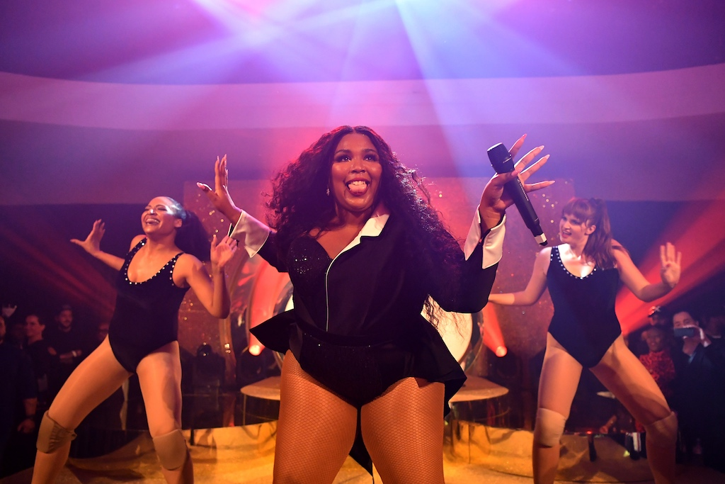 Lizzo Warner Music Group Pre-Grammy Party - Inside
