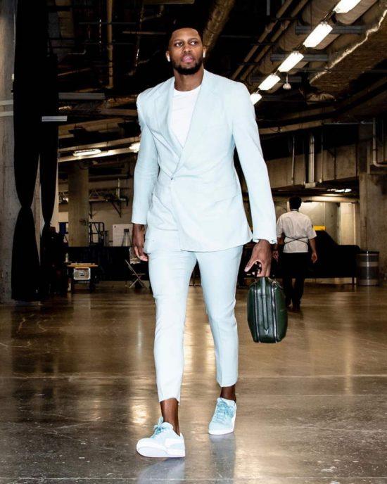 San Antonio Spurs Star Rudy Gay On Fashion And His Design Dreams