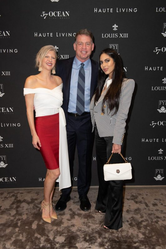 April Donelson, Troy Aikman and Deyvanshi Masrani