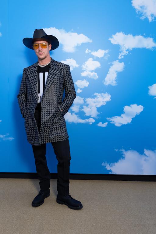 Diplo Louis Vuitton : Photocall - Paris Fashion Week - Menswear F/W 2020-2021