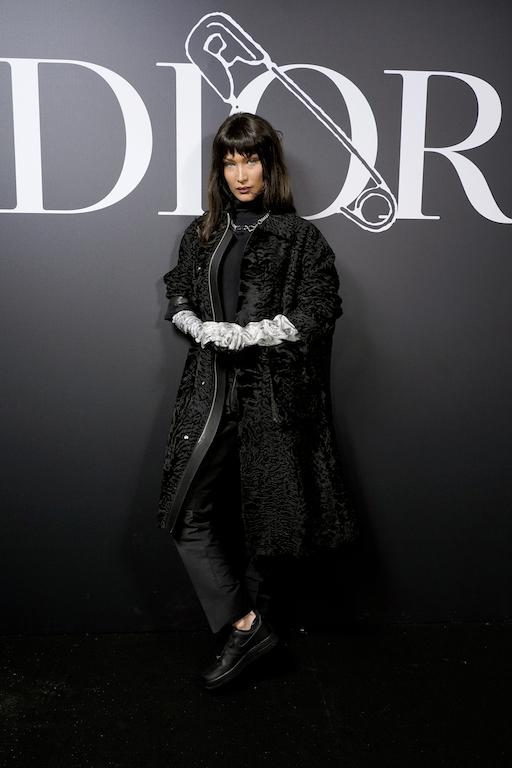 Dior Homme : Photocall - Paris Fashion Week - Menswear F/W 2020-2021 bella hadid