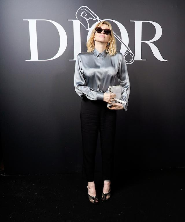 Courtney Love Dior Homme : Photocall - Paris Fashion Week - Menswear F/W 2020-2021