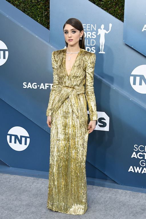 26th Annual Screen ActorsGuild Awards - Arrivals NATALIA DYER