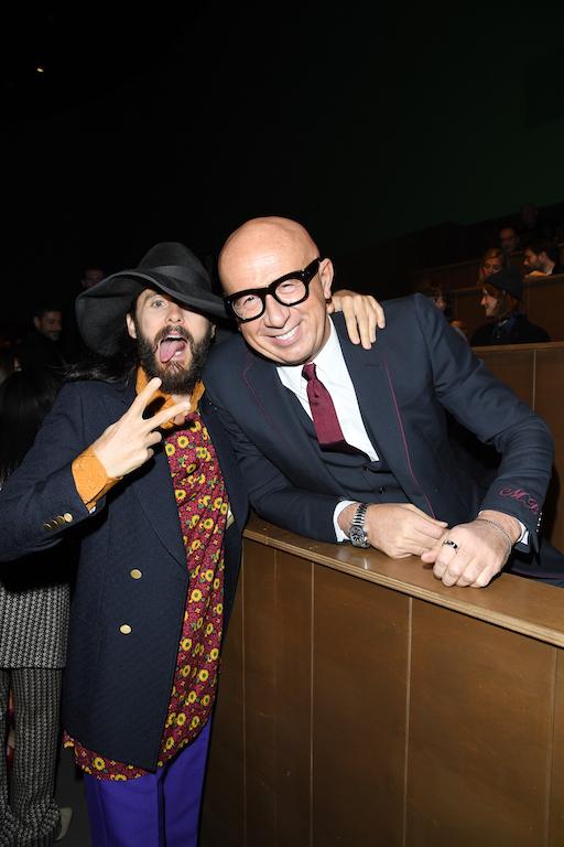 Gucci - Front Row - Milan Meanswear Fashion Week Fall/Winter 2020/21
