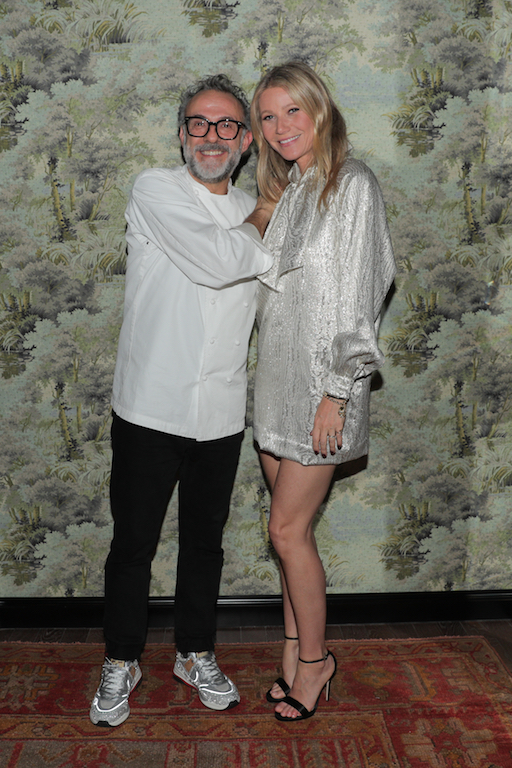 Massimo Bottura, Gwyneth Paltrow GUCCI CELEBRATES THE OPENING OF GUCCI OSTERIA DA MASSIMO BOTTURA BEVERLY HILLS