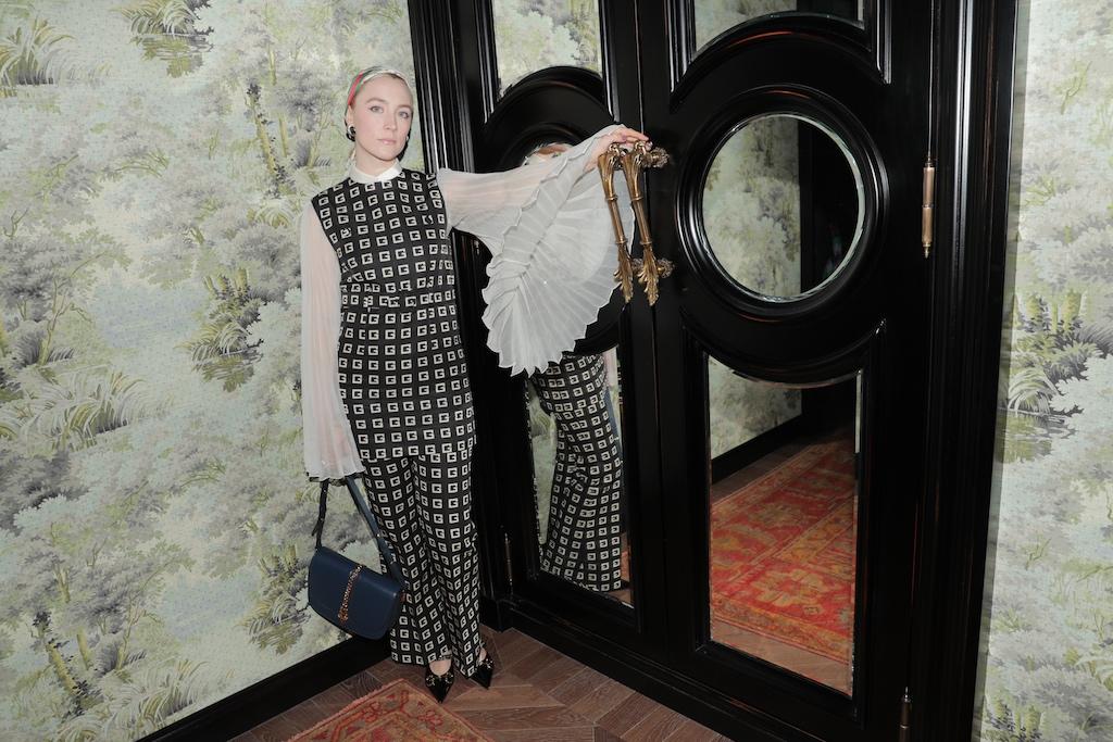 Saoirse Ronan GUCCI CELEBRATES THE OPENING OF GUCCI OSTERIA DA MASSIMO BOTTURA BEVERLY HILLS