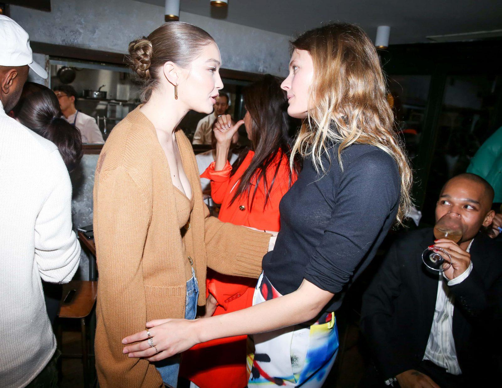 Gigi Hadid & Constance Jablonski