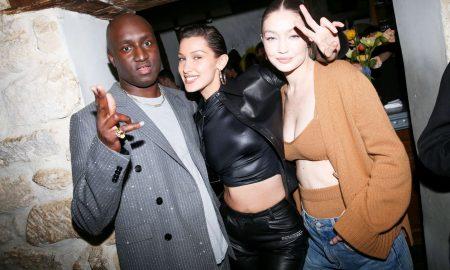Virgil Abloh, Bella Hadid & Gigi Hadid