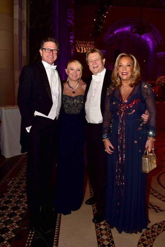 Kevin Richards, Janna Bullock, Peter Cervinka and Denise Rich