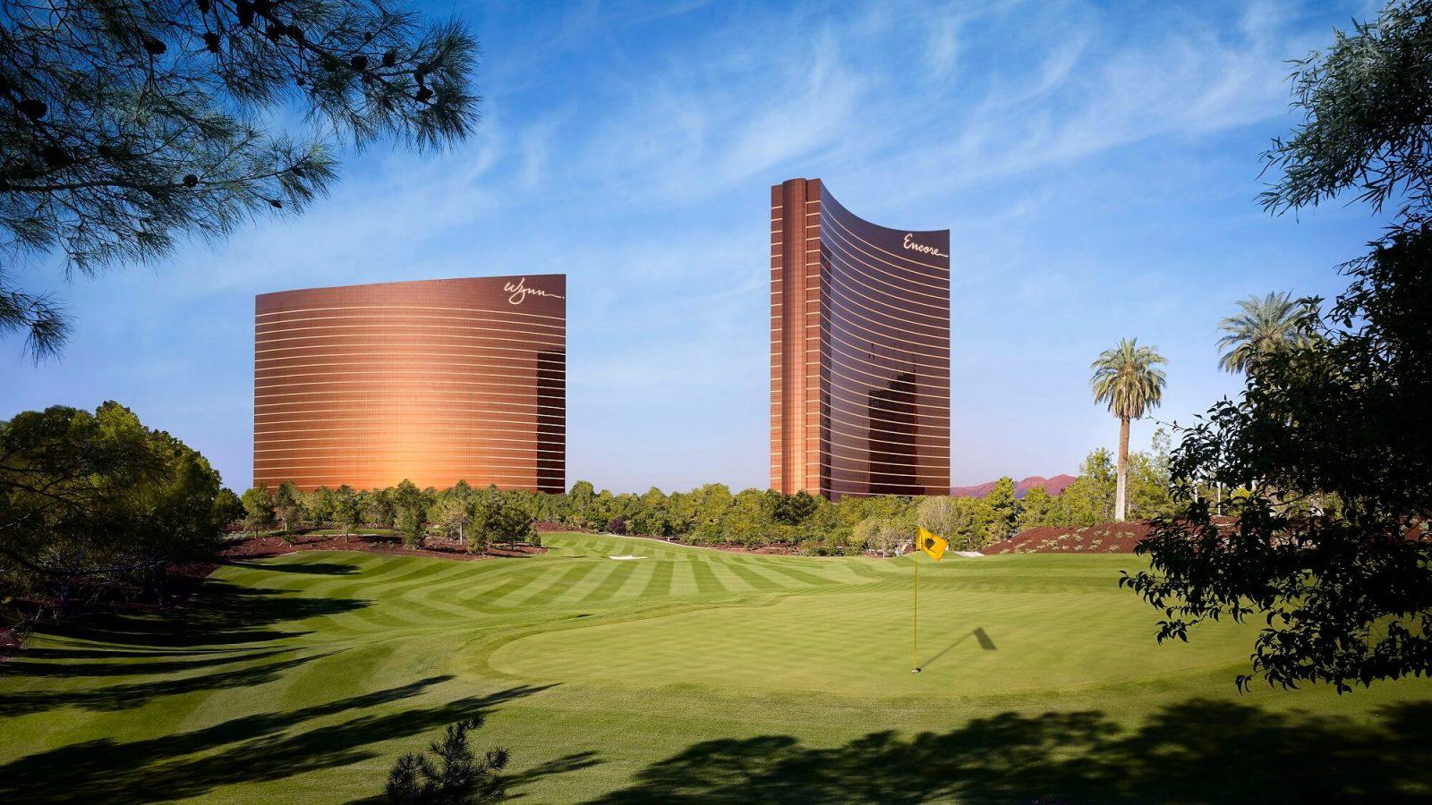 Golf Tower View Wynn Las Vegas