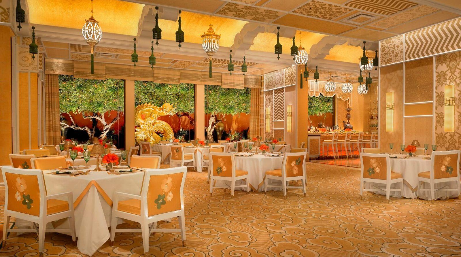 Wing Lei Wynn Las Vegas Main Dining Area