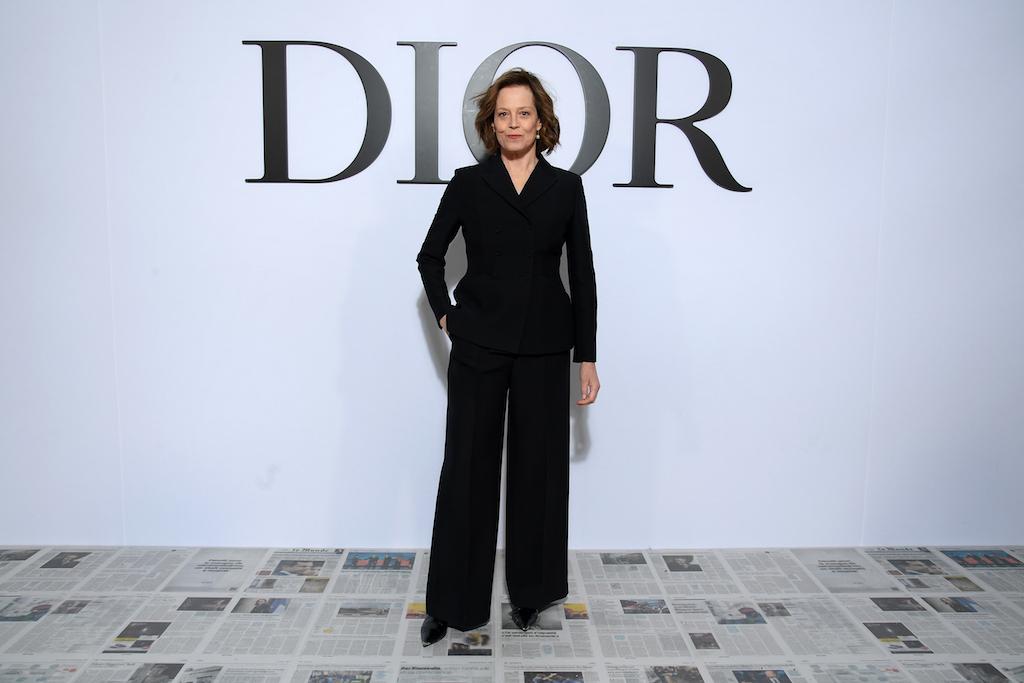 Sigourney Weaver Dior : Photocall - Paris Fashion Week Womenswear Fall/Winter 2020/2021