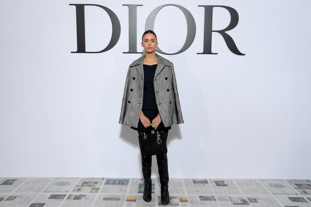 Nina Dobrev Dior : Photocall - Paris Fashion Week Womenswear Fall/Winter 2020/2021