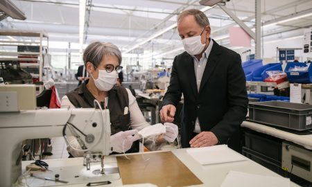 Louis Vuitton x covid x face masks