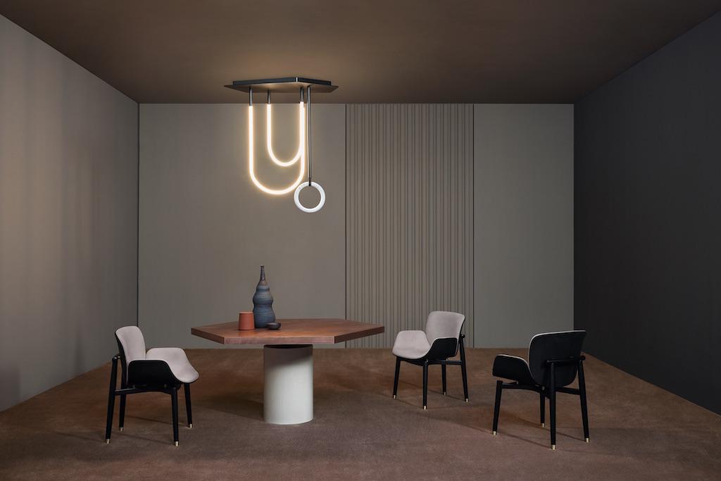 Jupiter Table and Jorgen Chair - Baxter April 2020