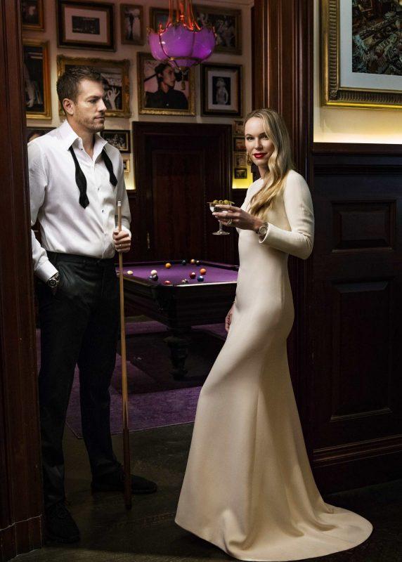 Caroline Wozniacki & David Lee