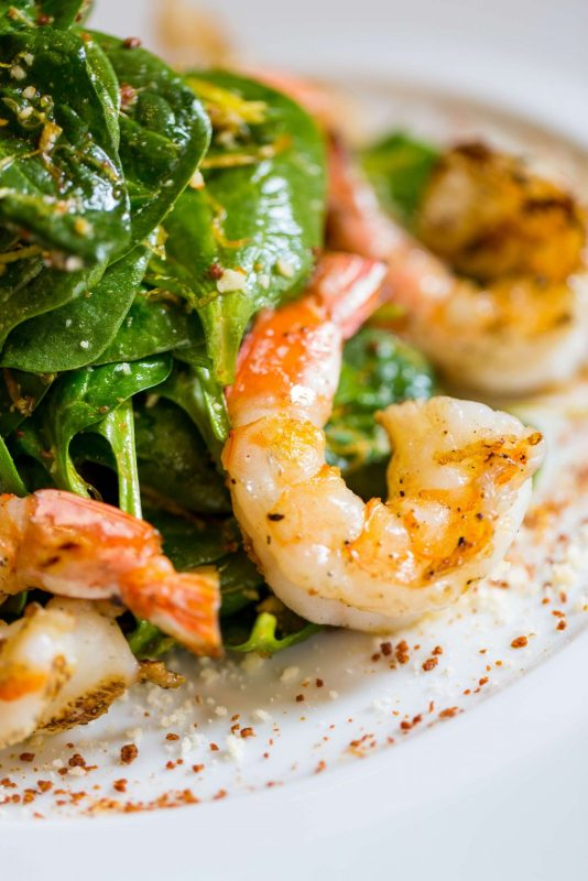 Baby Spinach w Grilled Shrimp - Henry Hargreaves[1] copy