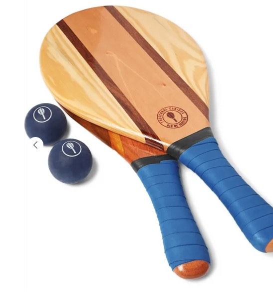 Frescobol Carioca beach bat and ball set