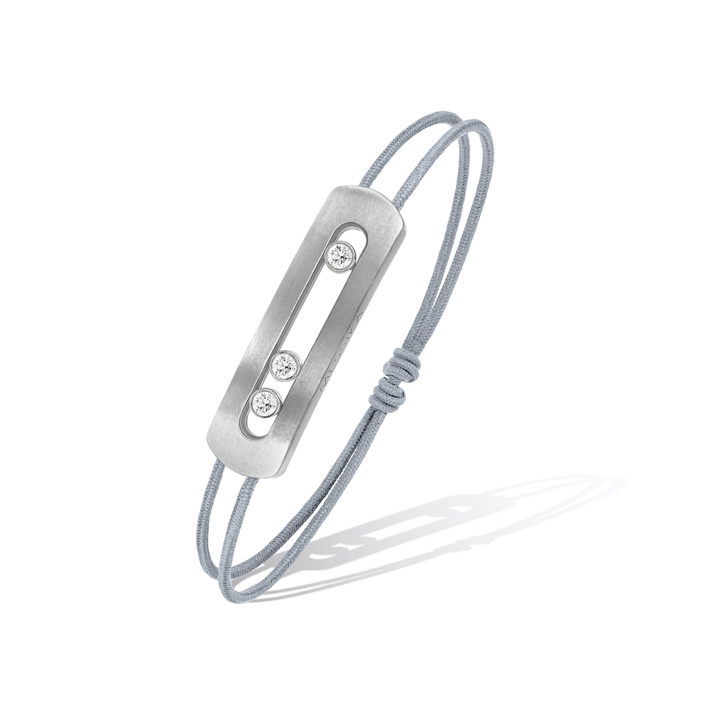 Messika Move Titanium Cord Bracelet, $1260