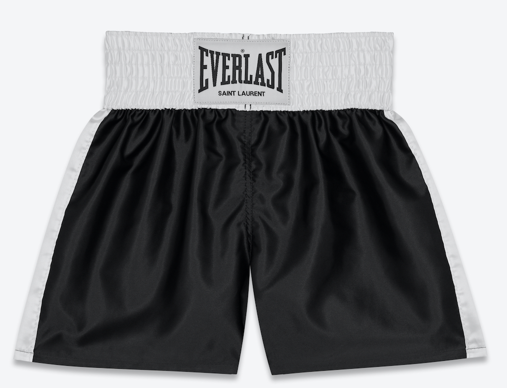Saint Laurent Rive Droit x everlast boxing gear
