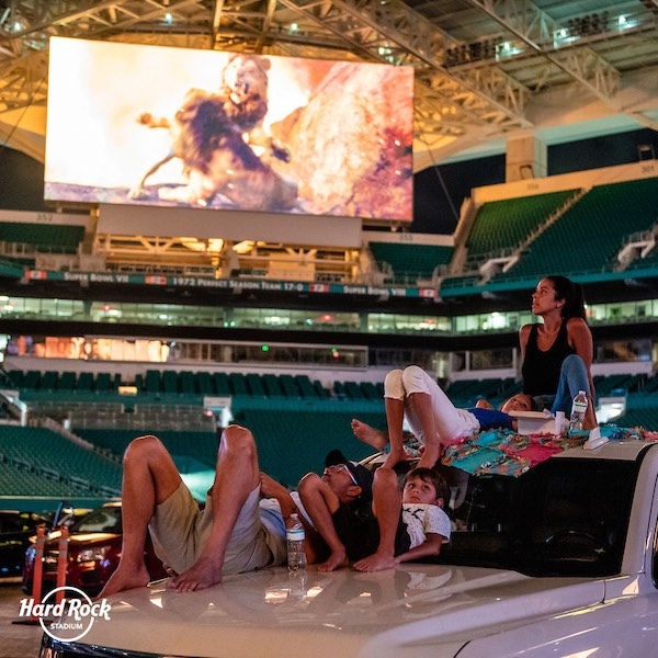 Drive In Theater Hard Rock Stadium