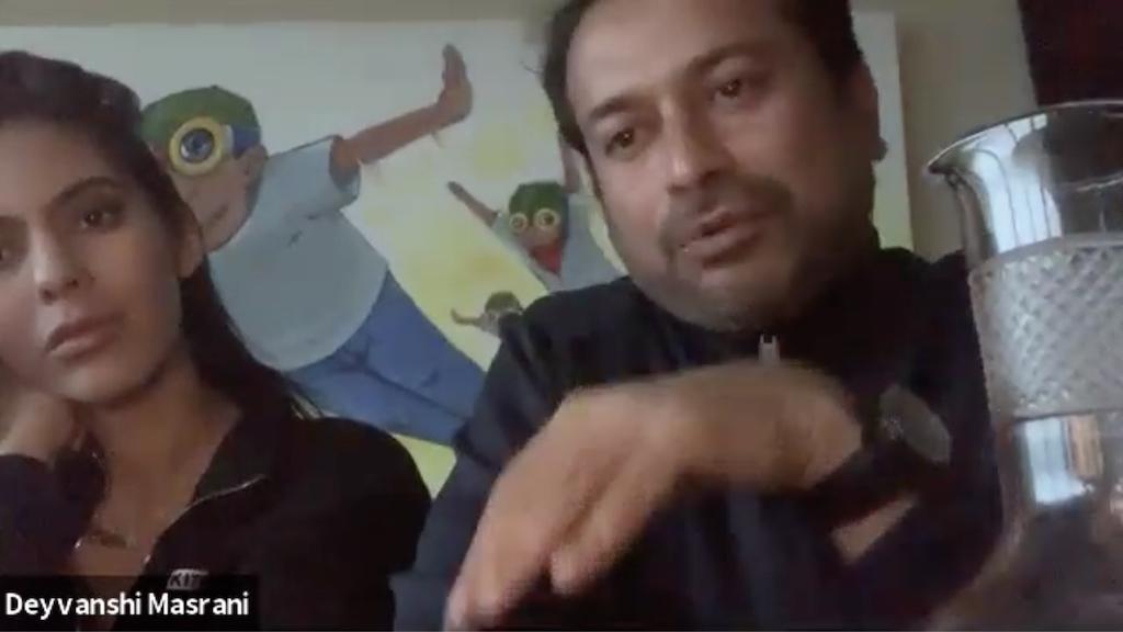 Deyvanshi Masrani, Kamal Hotchandani