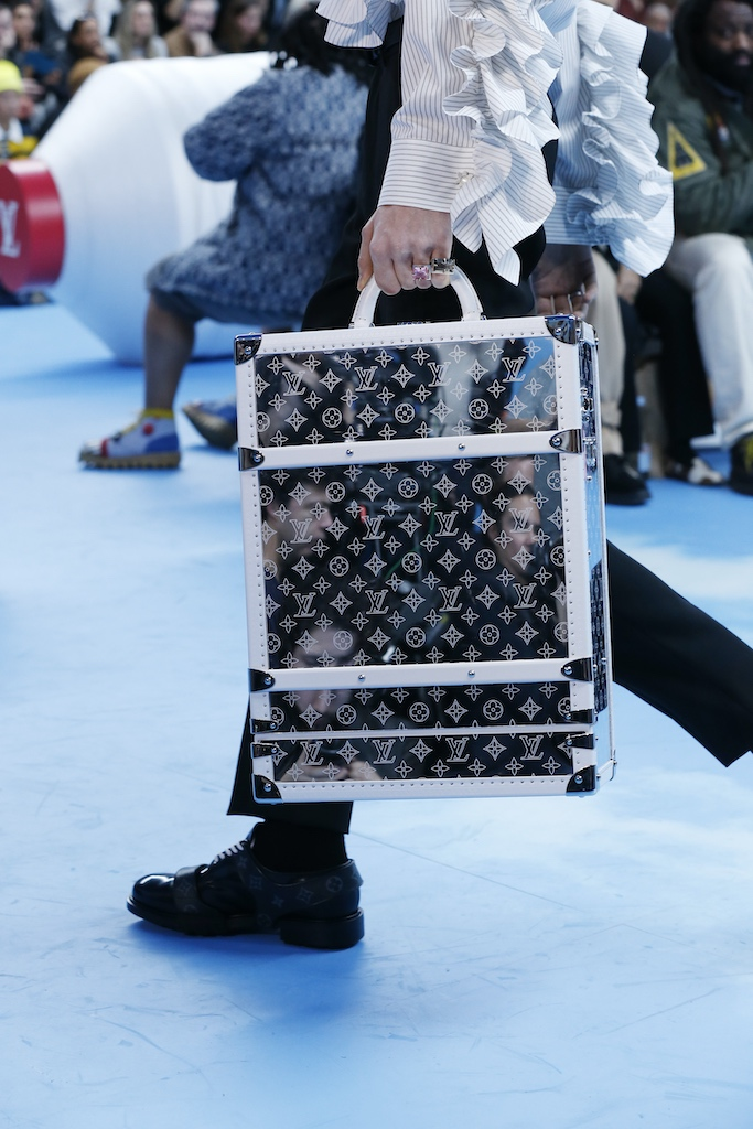 Louis Vuitton backpack trunk