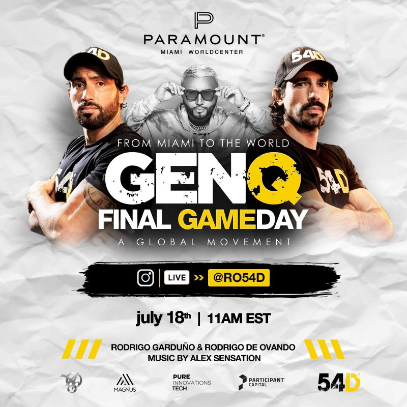 GenQ Final Game Day Flyer