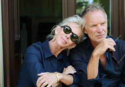 Trudie Styler + Sting
