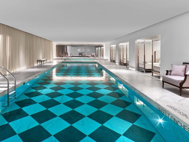Baccarat Hotel NYC Pool