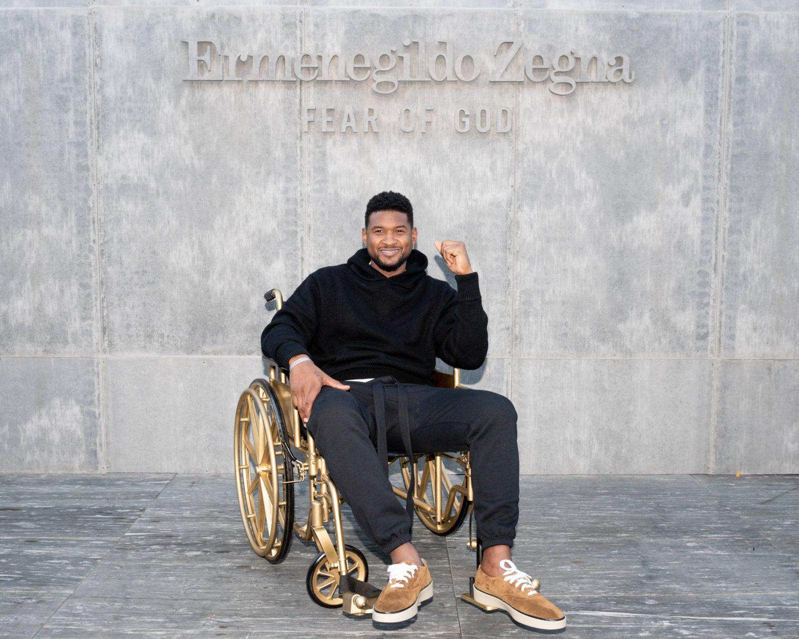 Usher x fear of god x zegna