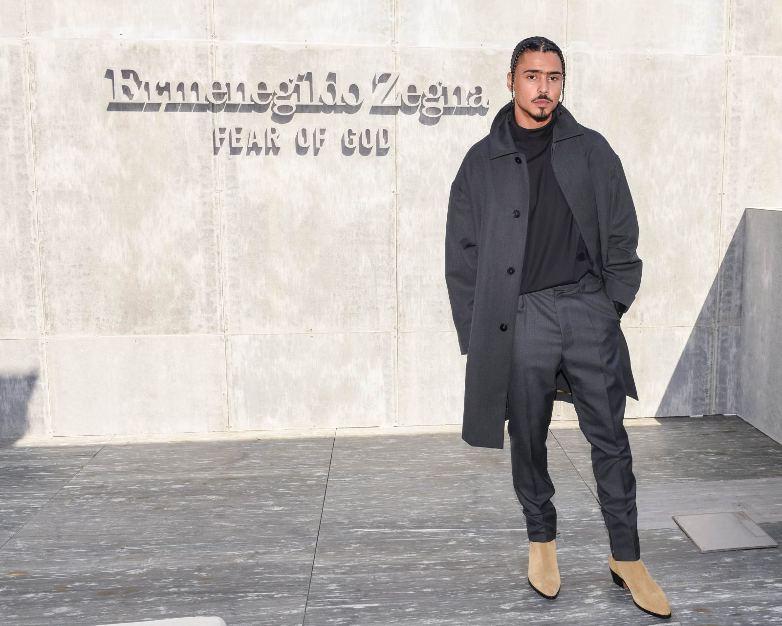 Quincy x fear of god x zegna