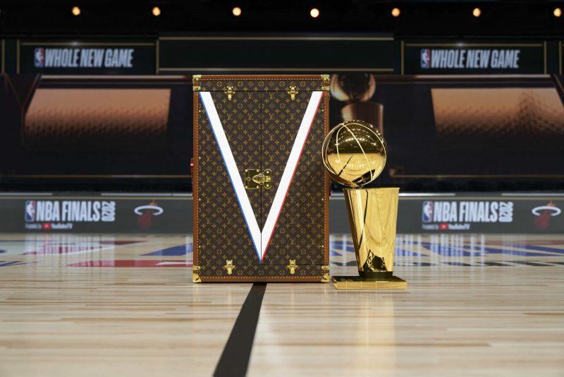 Louis Vuitton Larry O'Brien trophy nba