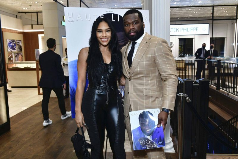 Jamira Haines and 50 Cent