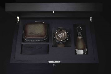 Big Bang Unico Berluti Cold Brown with watch box
