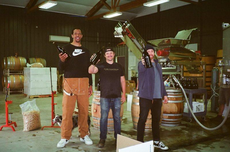 Channing Frye, Chase Renton and Jacob Grey