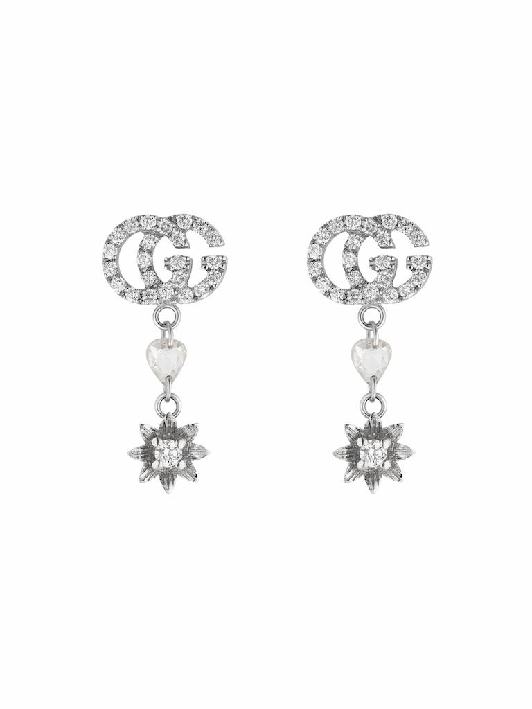 gucci flora earrings