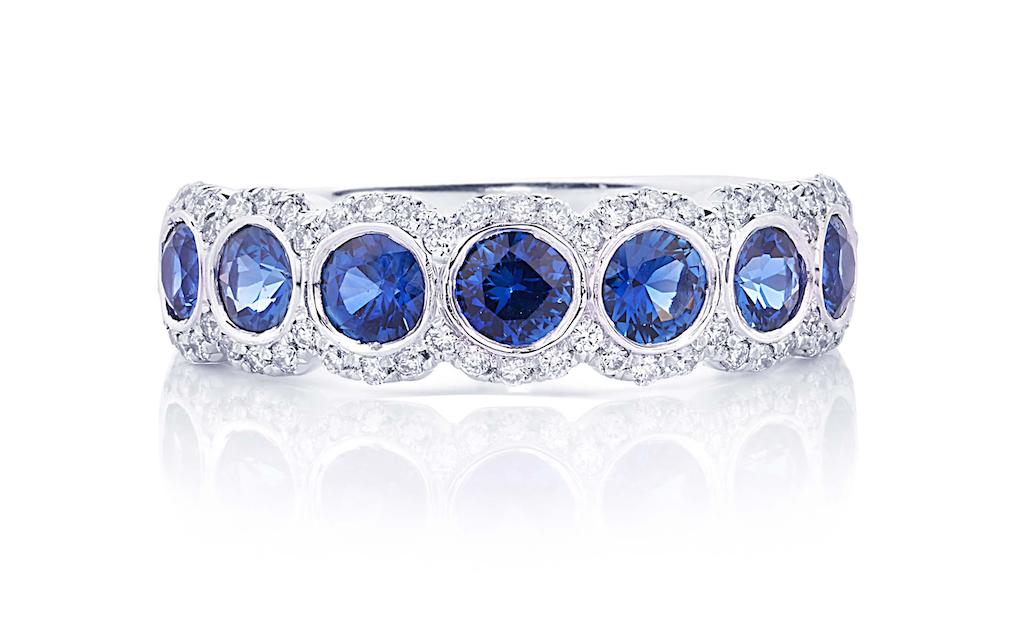 jb star halo diamond ring mayors