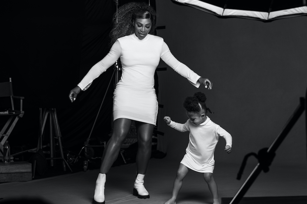 Serena williams x olympia ohanian