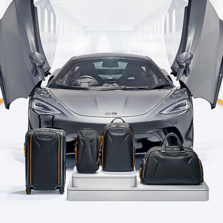 The McLaren x TUMI Collab Is A Sleek New Favorite Of The Jet Set