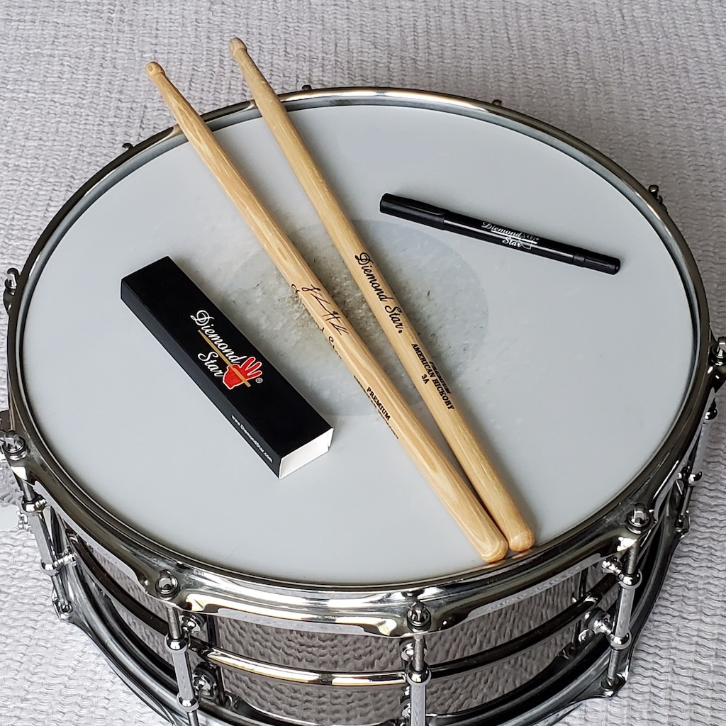 Diemond Star's Drumsticks Allow Musicians To Play Beyond the Ordinary
