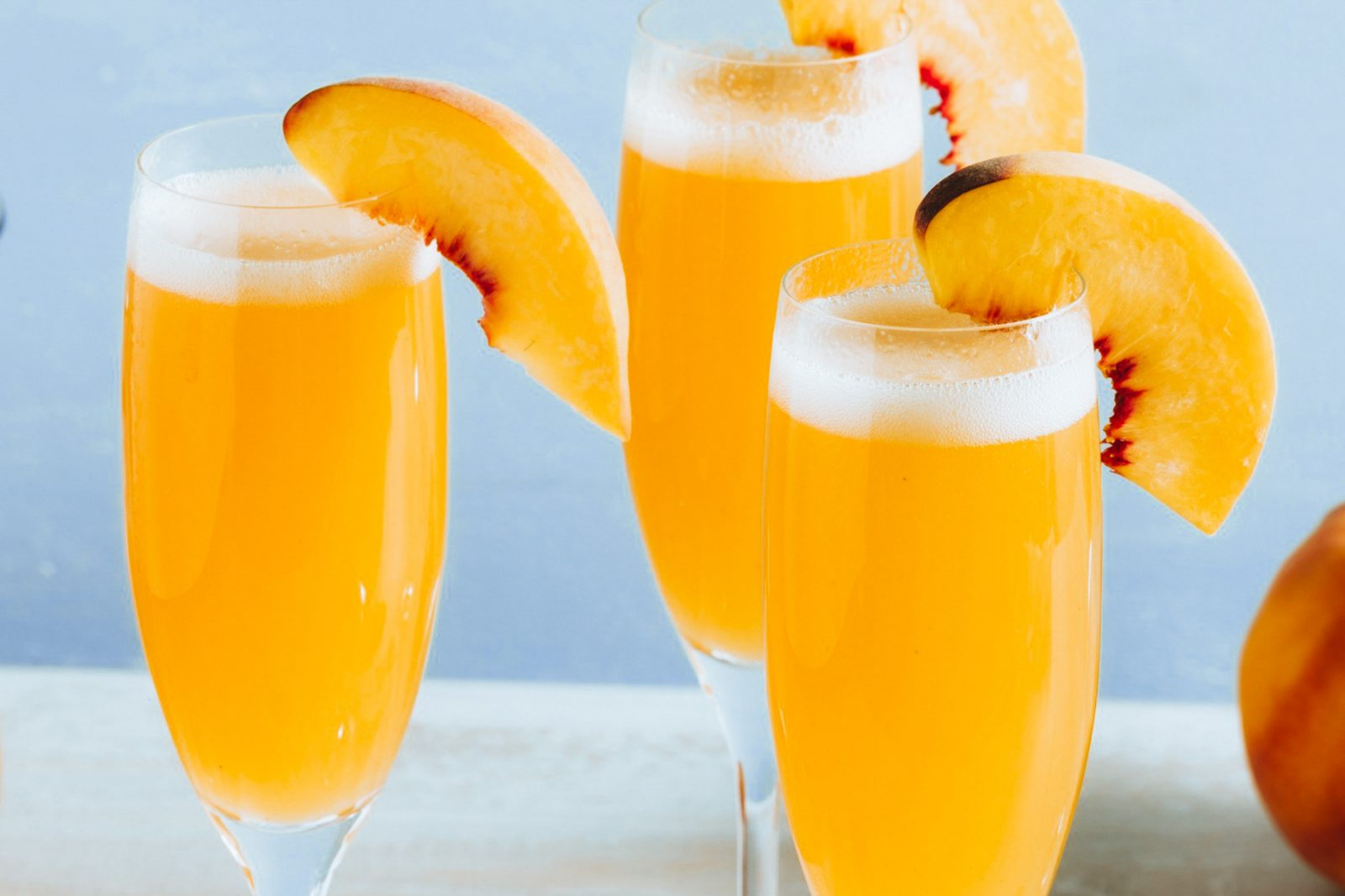 Everything's Peachy With Tribe's CBD Bellini