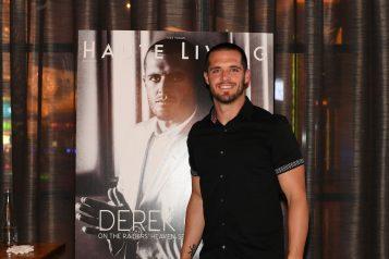 Haute Living Celebrates Las Vegas Raiders Quarterback Derek Carr