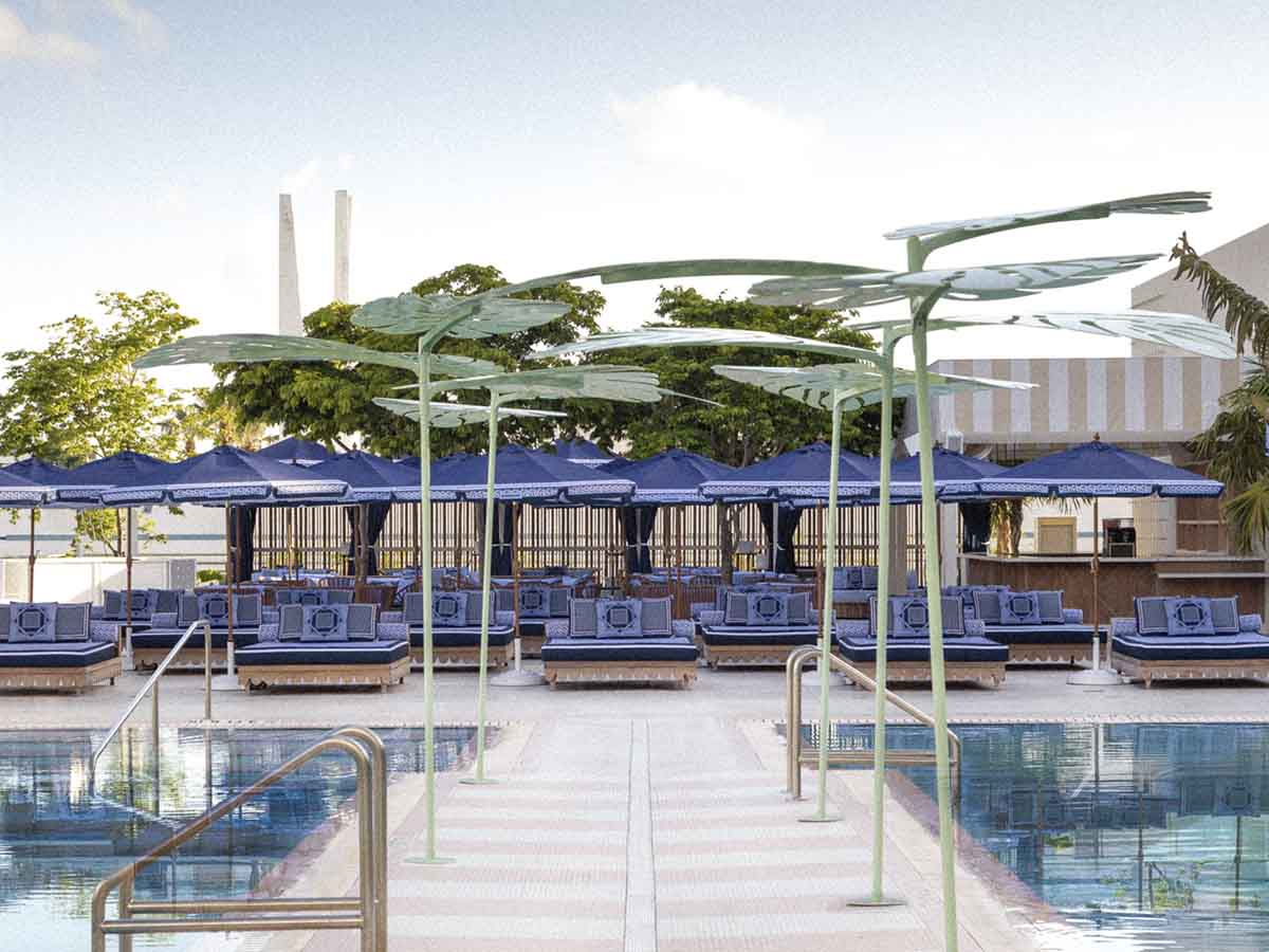 Burberry TB Summer Monogram Takeover at The Goodtime Hotel in Miami