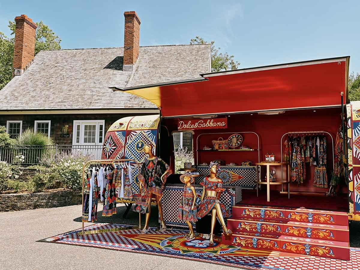 Dolce & Gabbana Airstream Hamptons