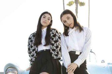 Louis Vuitton Footwear Launch Charli D'Amelio And Emma Chamberlain