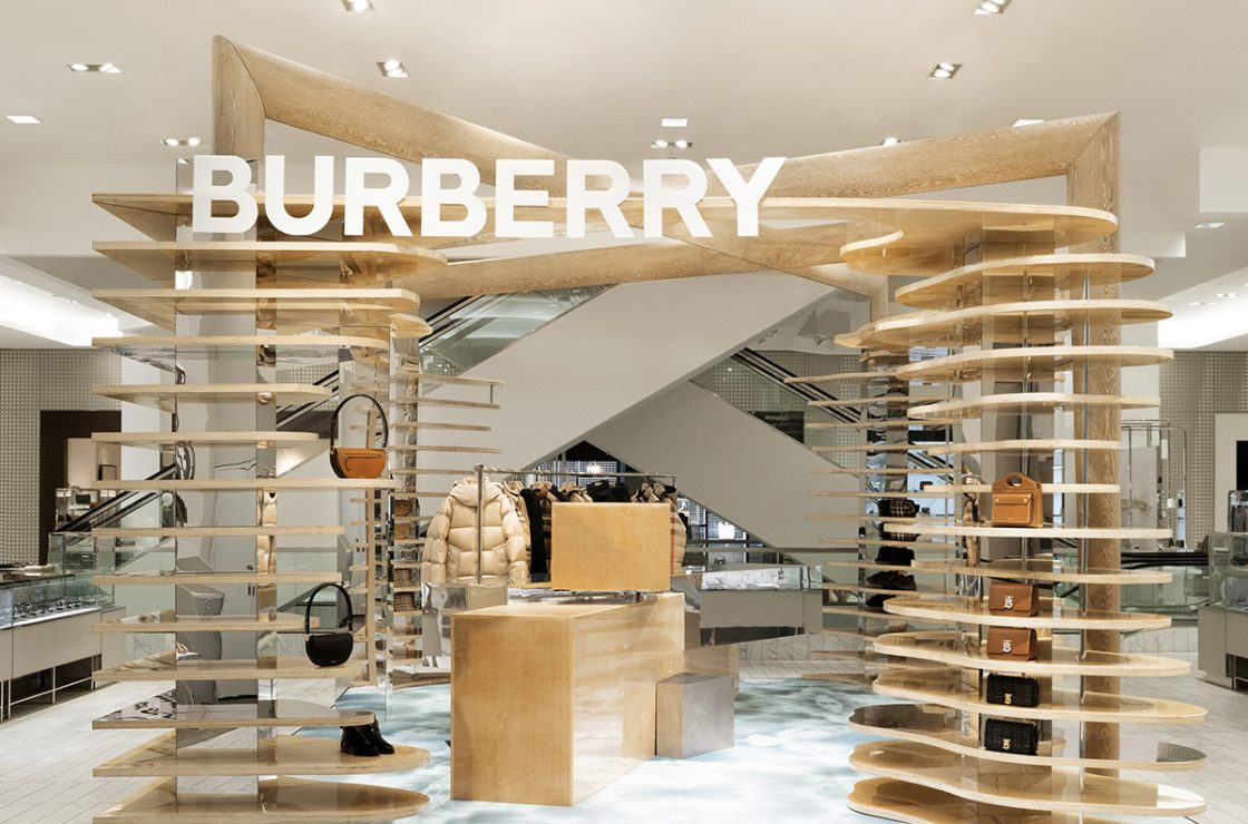 Burberry Imagined Landscapes Pop-ups