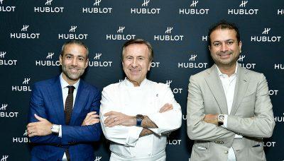 Haute Living Daniel Boulud with Hublot