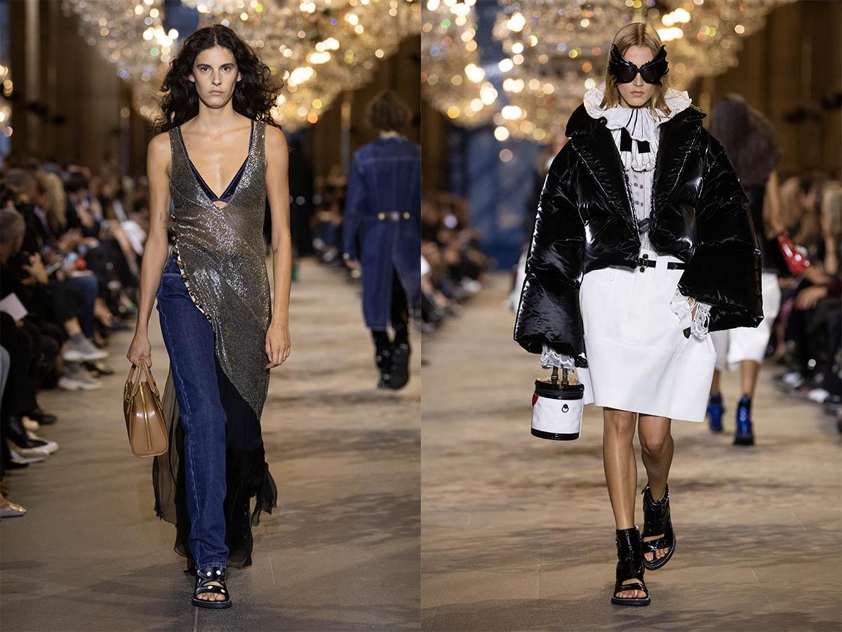 Louis Vuitton's Women's Spring-Summer 2022 Show In Paris